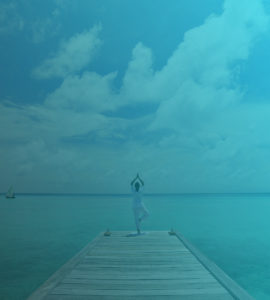 yoga and ocean lifestyle