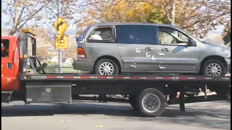 2 boys shot dead while sitting in a van at an elementary school parking lot, police say dapulse news