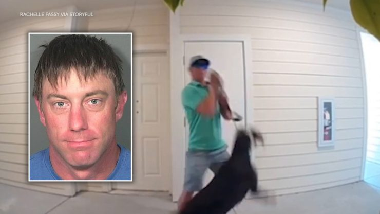 Police Make Arrest After Man Seen Choking Ex-Girlfriend's Dog on Doorbell Camera