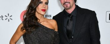Tati Westbrook (L) attends the 28th Annual Elton John AIDS Foundation Academy Awards Viewing Party Sponsored By IMDb And Neuro Drinks on February 09, 2020 in West Hollywood, California